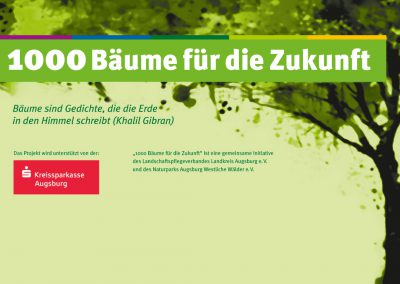 1000 Bäume für die Zukunft, November 2018