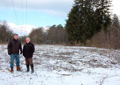 Neuer Lebensraum Wald-Wiesenvögelchen, März 2018