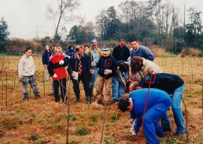 Landschaftspflegeverband Landkreis Augsburg e.V. Weidenpflanzung