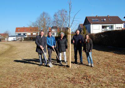 LPV-Projekt 1000 Bäume für die Zukunft, Pflanzung 2019