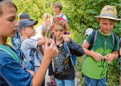 LPV-Kindersafari Erlebnis Lechaue, August 2018