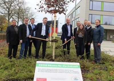 LPV-Projekt 1000 Bäume für die Zukunft – Pflanzung Neusäß, November 2019