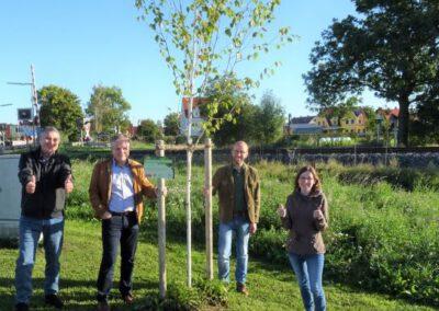 1000 Bäume für die Zukunft, Pflanzung Oberottmarshausen, Oktober 2021